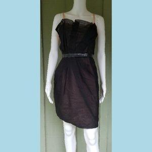 MARC by MARC JACOBS Black Silk Organza Dress